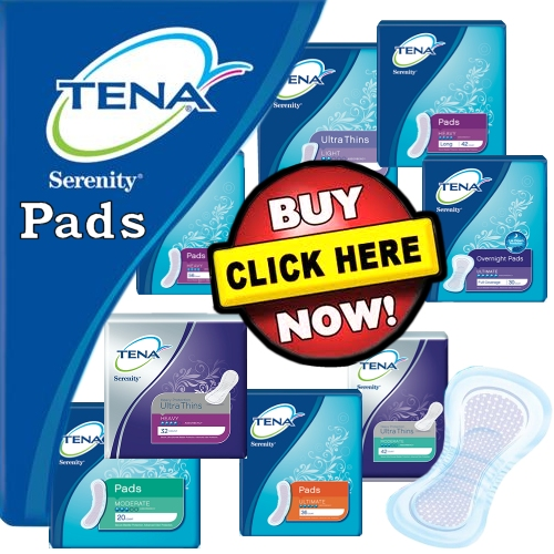 Tena Serenity Pads On Sale